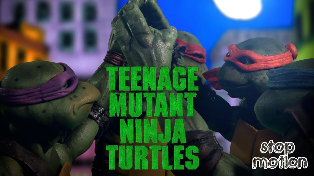 Animated Tribute to the Trailer for the 1990s TEENAGE MUTANT NINJA TURTLES Movie